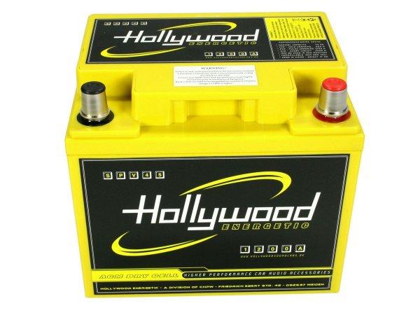 Hollywood HP-M6 - słupkowe terminale akumulatora