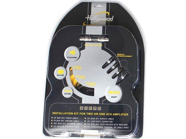 Hollywood PRO-48 - zestaw kabli OFC do wzmacniacza