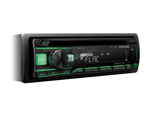 Alpine CDE-201R - radioodtwarzacz samochodowy