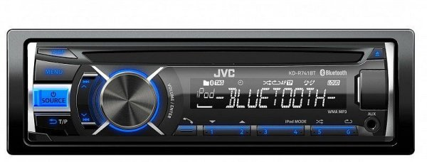 JVC KD-R741BT - radioodtwarzacz