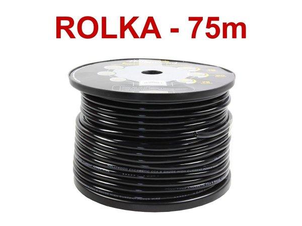 Hollywood CCA PC-B8 - kabel zasilaj. 8,5 mm2 /75m