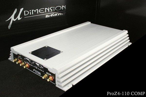 u-Dimension ProZ 4-110 - wzmacniacz samochodowy