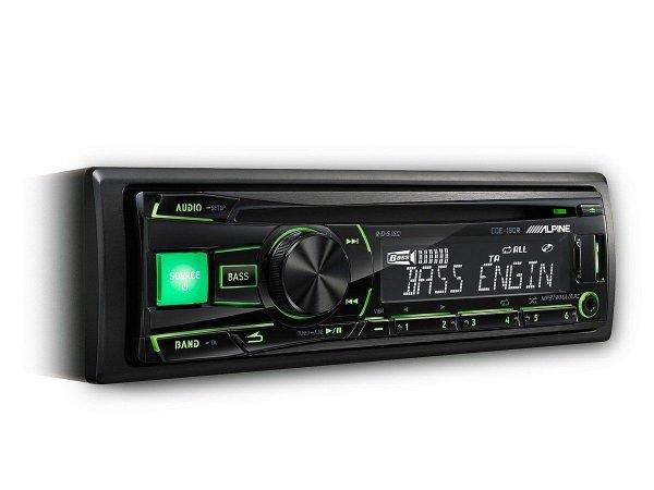 Alpine CDE-180R - radioodtwarzacz