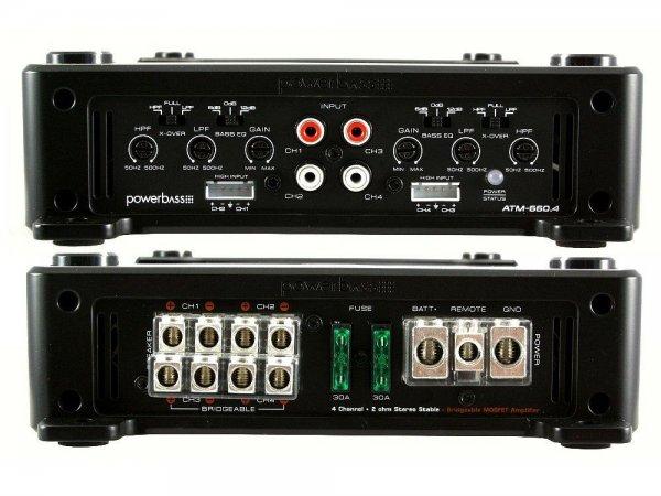 Powerbass ATM-660.4 - wzmacniacz samochodowy
