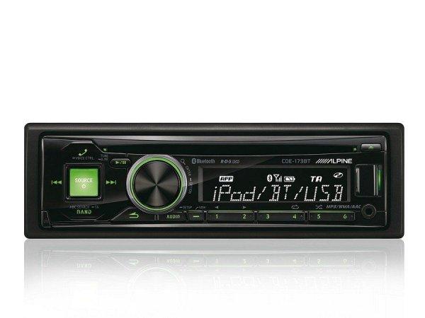 Alpine CDE-173BT - radioodtwarzacz samochodowy