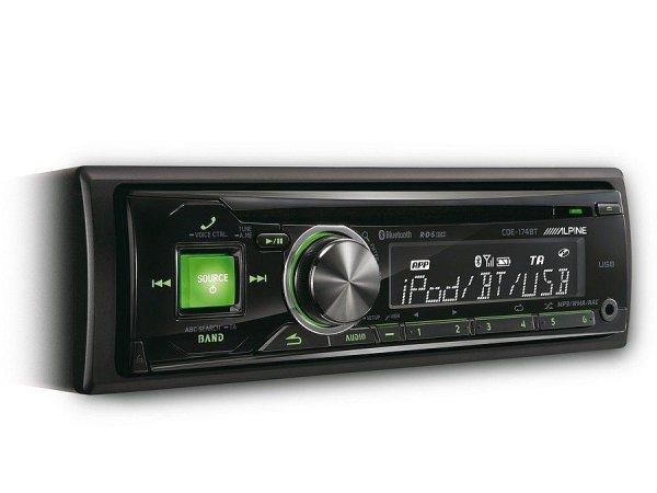 Alpine CDE-174BT - radioodtwarzacz