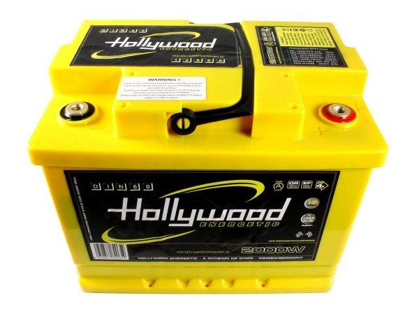 Hollywood DIN-60 - akumulator DIN AGM - 60Ah