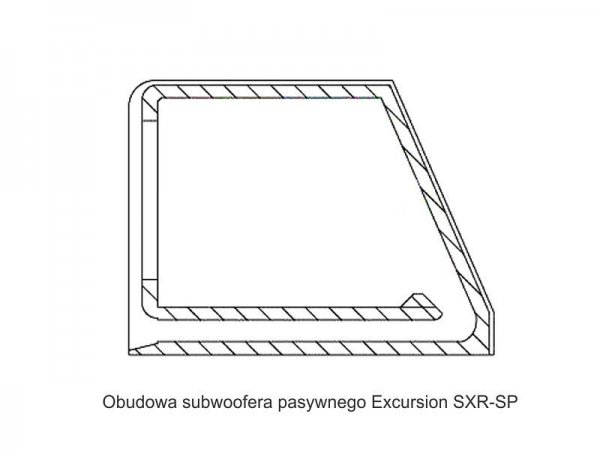 Excursion SXR.v2-SP12 - subwoofer pasywny 12