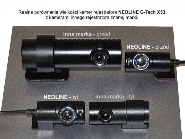 Neoline G-Tech X53 - rejestrator do ukrytego montażu