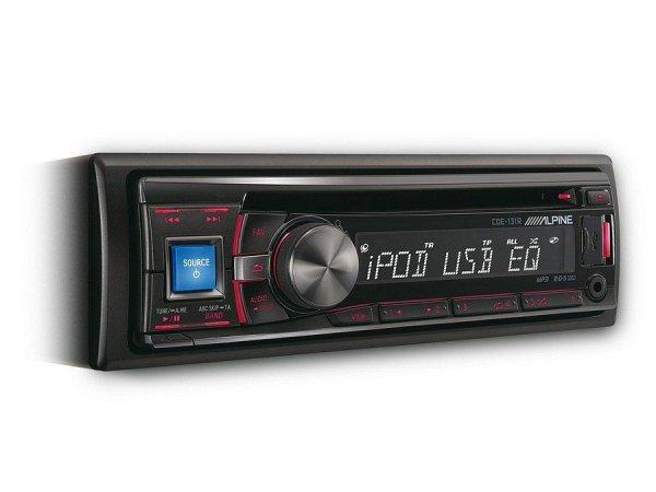 Alpine CDE-131R - radioodtwarzacz