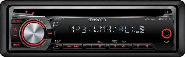 Kenwood KDC-315R - radioodtwarzacz