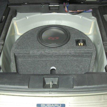 Subaru Outback 4 - obudowa subwoofera