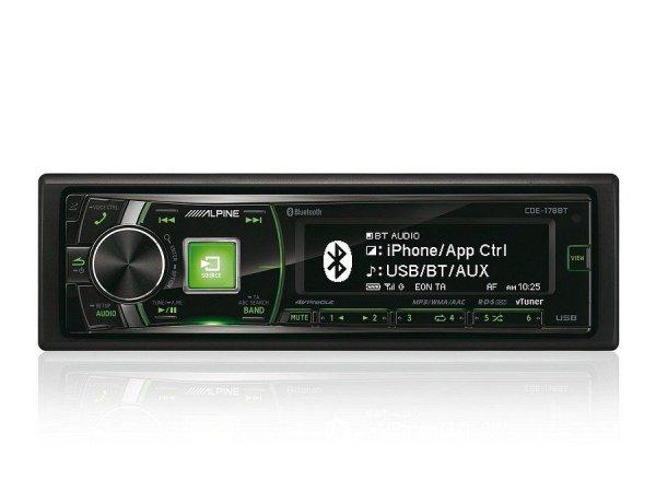 Alpine CDE-178BT - radioodtwarzacz