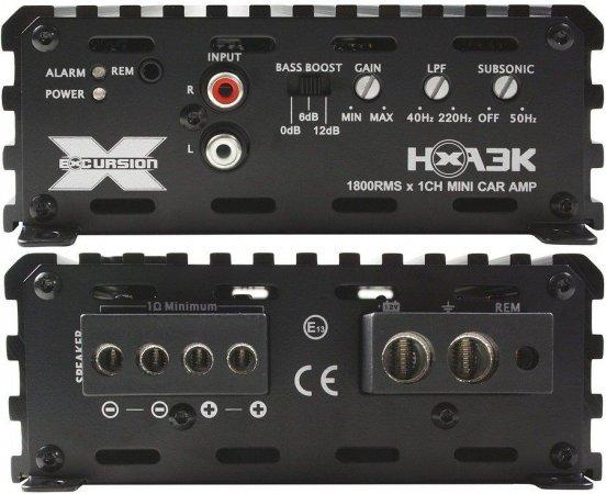 Excursion HXA-3K wer.1 - wzmacniacz samochodowy