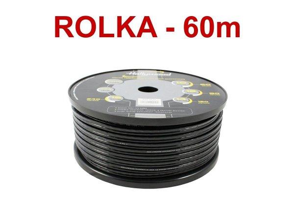 Hollywood CCA SC-12 - kabel głośn. 2x3,5 mm2 /60m
