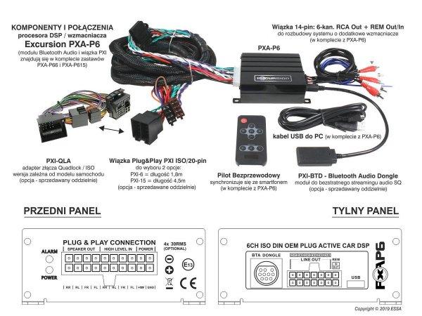Excursion PXI-BTD - moduł Bluetooth Audio do PXA-P6