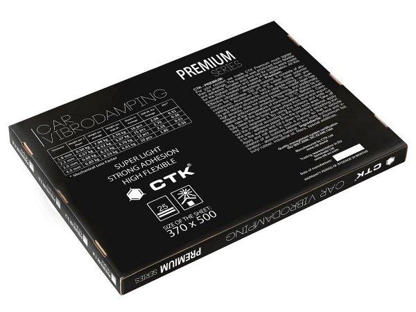 CTK Premium 2.2 Box - mata tłumiąca, 15szt./2,8m2
