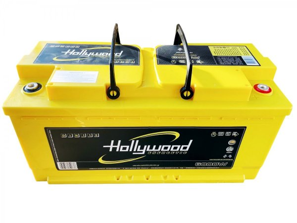 Hollywood DIN-110 - akumulator DIN AGM - 110Ah