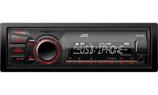 JVC KD-X200 - radioodtwarzacz