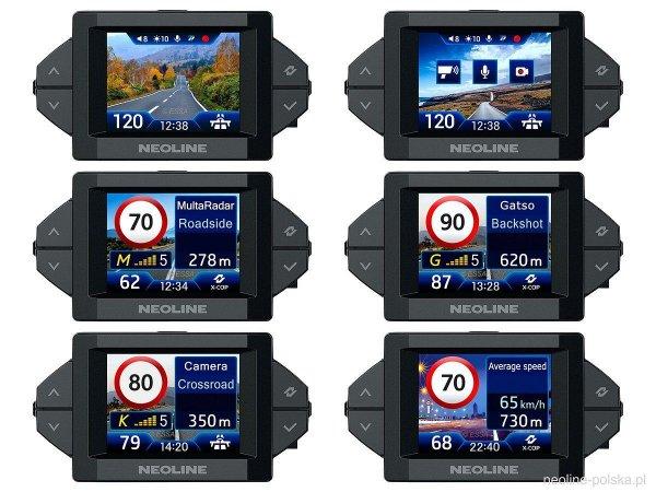 Neoline X-Cop 9300s - rejestrator, antyradar, baza GPS