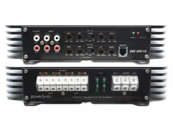 Powerbass ASA-600.4x - wzmacniacz samochodowy