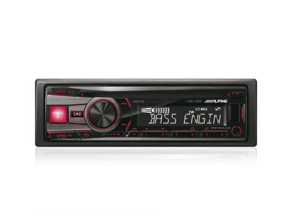 Alpine CDE-192R - radioodtwarzacz samochodowy