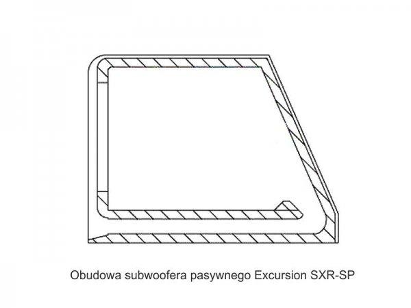 Excursion SXR.v2-SP8 - subwoofer pasywny 8